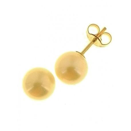 Orecchini donna con perle bianche