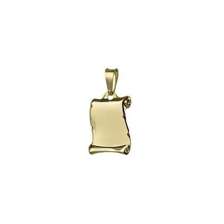 Medaglia a pergamena oro