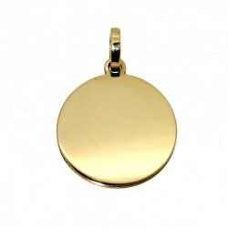round gold medal 00208