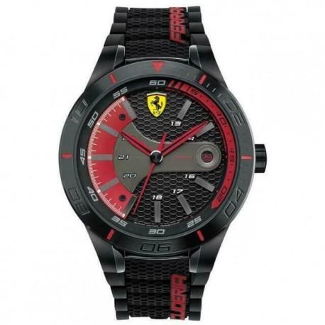Red Rev Evo Strap Scuderia Ferrari 0830265 men's watch