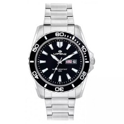 Montre Homme Lorenz Only Time Sport Collection Black 026116AA