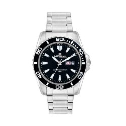 Lorenz Men's Watch Only Time Sport Collection Black