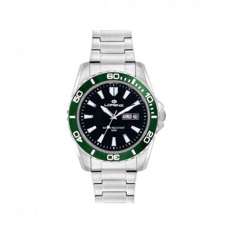 Lorenz Men's Watch Chronograph Sport Black 026117AA