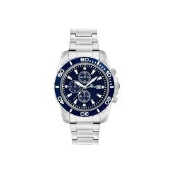 Lorenz Herrenuhr Chronograph Sport Blue 026117CC