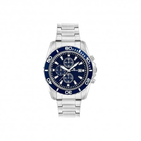 Lorenz Men's Watch Chronograph Sport Blue 026117CC