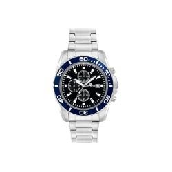 Lorenz Men's Watch Chronograph Sport Black Blue 026117DD