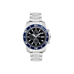 Montre Homme Lorenz Chronograph Sport Black Blue 026117DD