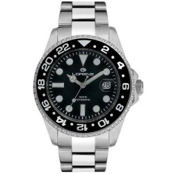 Lorenz Geneva Automatische Herrenuhr GMT 026961DD