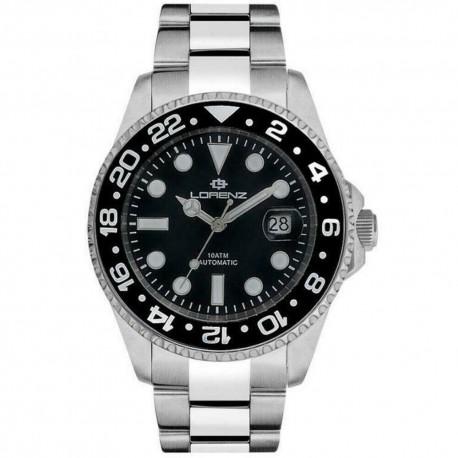 Lorenz Geneva Automatic Men's Watch GMT 026961DD