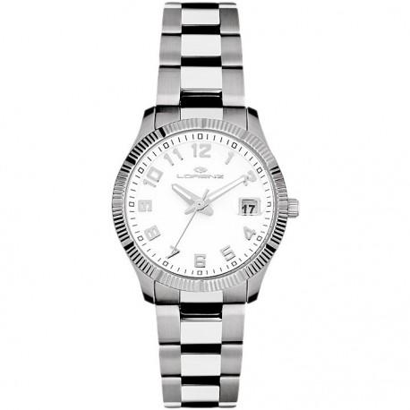 Lorenz Women's Watch 027066AA Quartz Analog Only time Steel Steel
