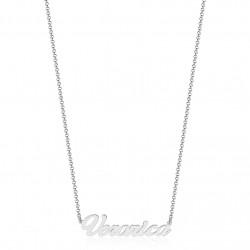Collana con nome personalizzabile in argento 925