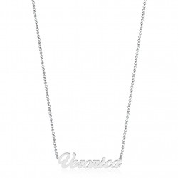 Necklace with name personalized in silver 925