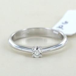 Anello Solitario piccolo con diamante da 0.10 carati 00221