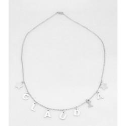 Halskette anpassbare silver silber 925