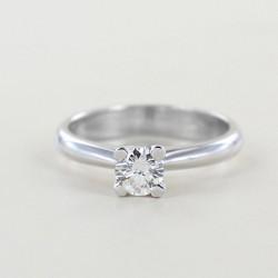 Solitärring großer Diamant 0,40 Karat 00237