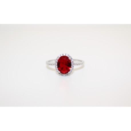 Кольцо, серебро 00058