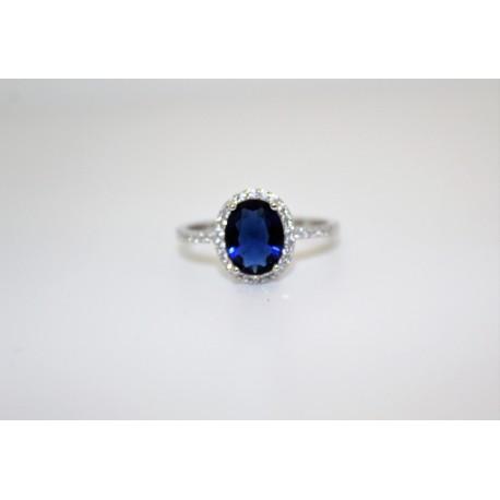 Кольцо, серебро 00059