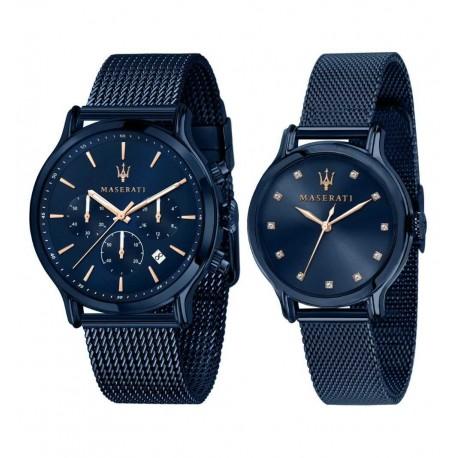 Montres homme et femme Maserati Blue Edition R8853141003