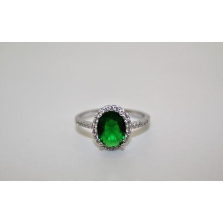 Кольцо, серебро 00060