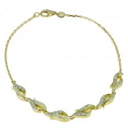 18 kt gold bracelet BR1027G