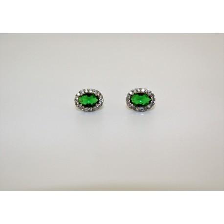 Earrings silver 00066