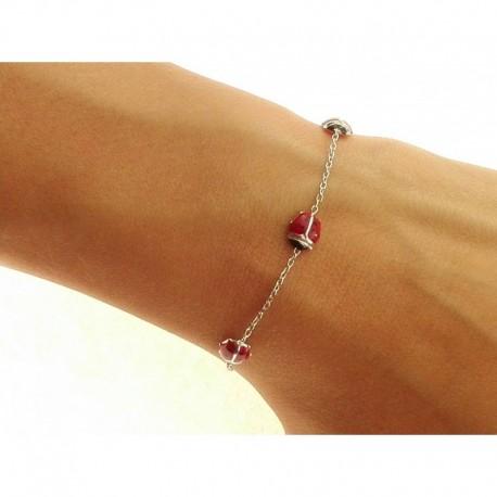 18 kt gold bracelet BR1204B