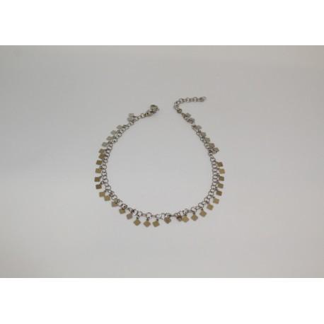 Bracelet de cheville en diamants