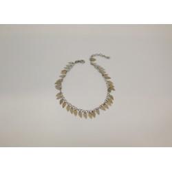 Bracelet de cheville en plume