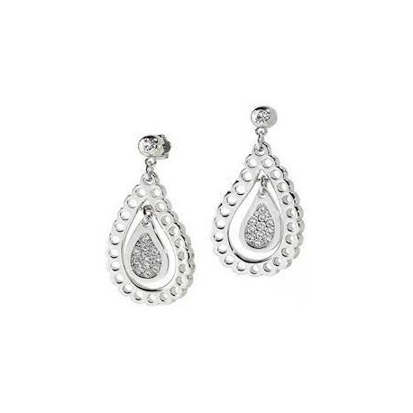 Morellato earrings with crystals SYW06
