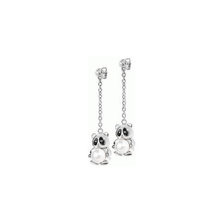 Morellato women's earrings with panda pendants SKP19