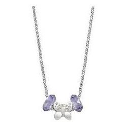 Morellato women's necklace with butterfly pendant and stones Stone: Swarovski SCZ228