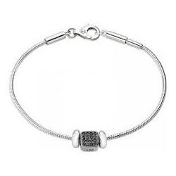 Bracelet homme Morellato en argent avec pendentifs SAFZ137