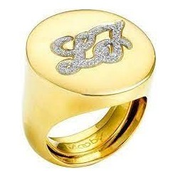 Liu Jo women's ring with engraved logo LJ895