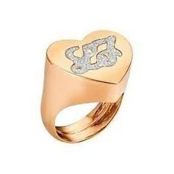 Liu Jo women's ring with engraved logo LJ893