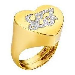 Liu Jo women's ring with engraved logo LJ892