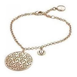 Liu Jo women's bracelet in brass with zircons LJ886