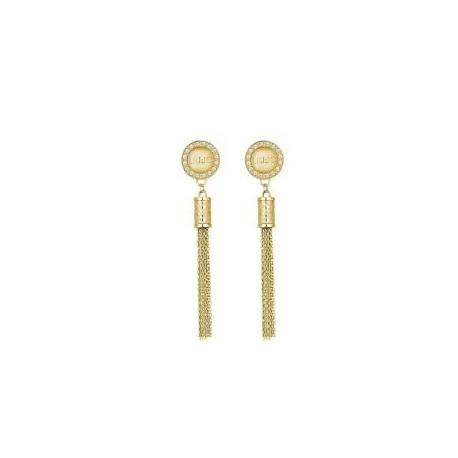Liu Jo women's pendant earrings with rhinestones LJ1298