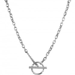 Liu Jo women's chain necklace with circle LJ1027