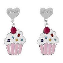 Boucles d'oreilles pendantes Liu Jo avec cupcake BLJ364