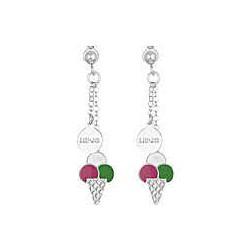 Boucles d'oreilles pendantes Liu Jo avec glace pour filles BLJ357