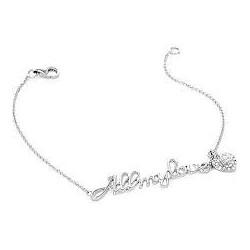 Liu Jo bracciale da donna in argento con scritta all my love ALJ018