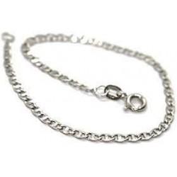 Bracelets en or blanc BR782B pour homme