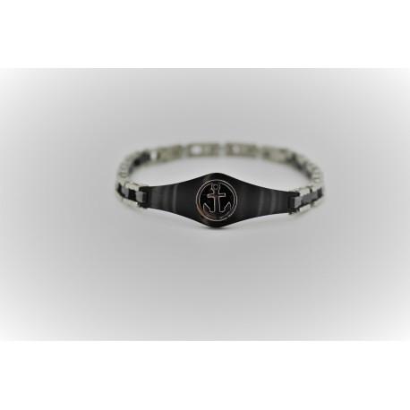 Bracelet man Black