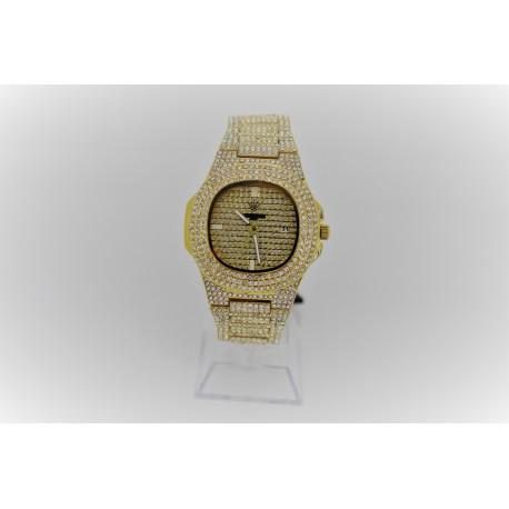 Unisex Uhr Gold