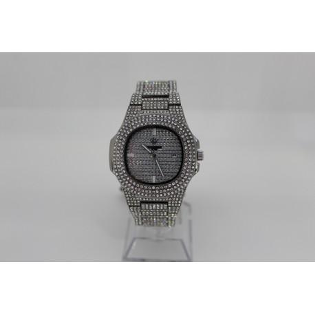Unisex Uhr Silber
