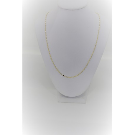 Necklace gold laminated