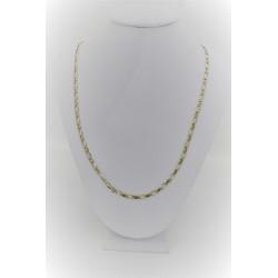 Halskette in 18 kt gelbgold mit maschenweite