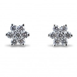Orecchini Stella di Diamanti collezione Yamir stella grande 00372