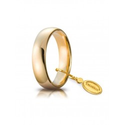 comfortable wedding ring unoaerre 5 mm