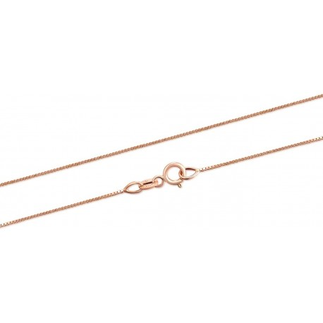 catena veneziana in oro rosa